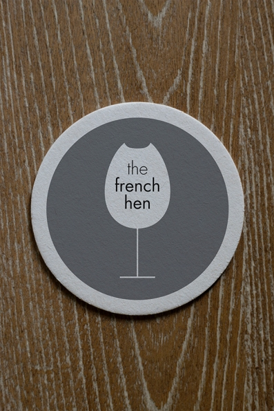 French hen_ Coaster
